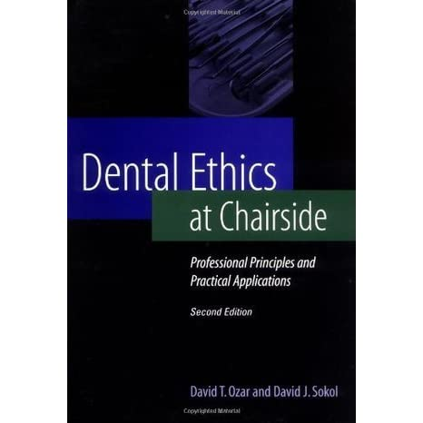 DENTAL ETHICS AT CHAIRSIDE PDF DOWNLOAD