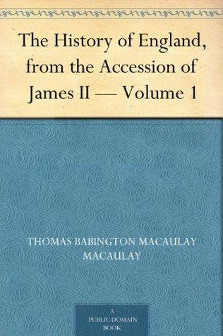 by Thomas Babington Macaulay.