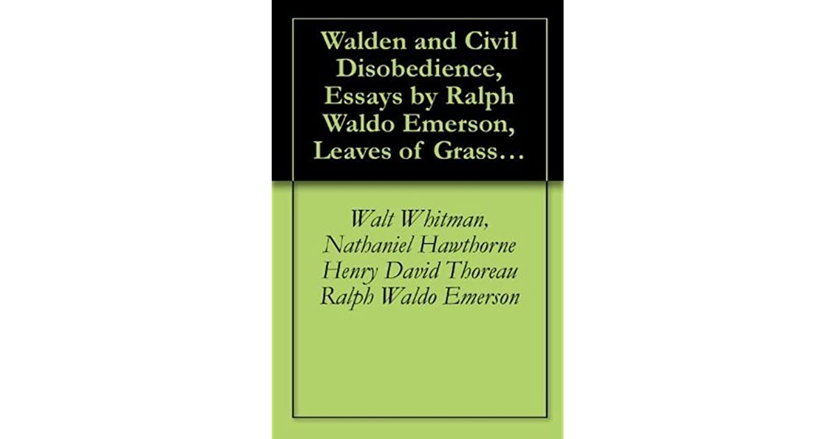 Research Paper Essay Format Walden And Civil Disobedience Essays By Ralph Waldo Emerson Leaves Of  Grass By Walt Whitman  Twice Told Tales By Hawthorne By Henry David  Thoreau   Essay Topics For Research Paper also Example English Essay Walden And Civil Disobedience Essays By Ralph Waldo Emerson Leaves  Best English Essay