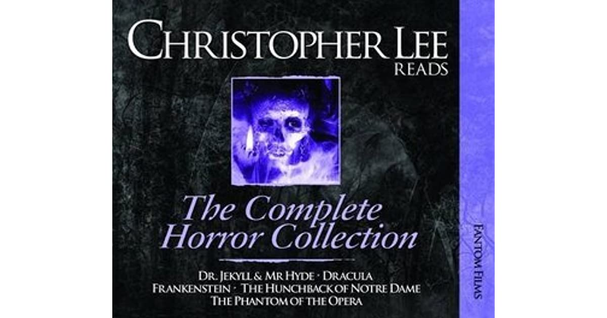 Christopher lee reads dracula frankenstein phantom of the opera christopher lee reads dracula frankenstein phantom of the opera the hunchback of notre dame and dr jekyll mr hyde by bram stoker fandeluxe Choice Image