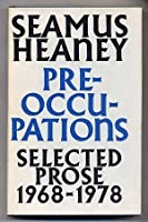 Preoccupations: Selected Prose, 1968 1978