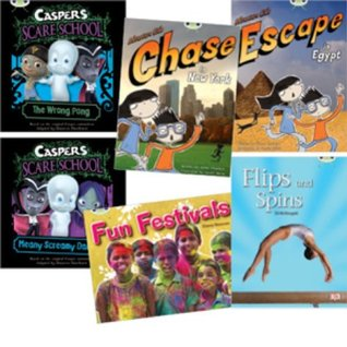 Learn to Read at Home with Bug Club: Orange Pack Featuring Casper the Friendly Ghost (Pack of 6 Reading Books with 4 Fiction and 2 Non-Fiction)