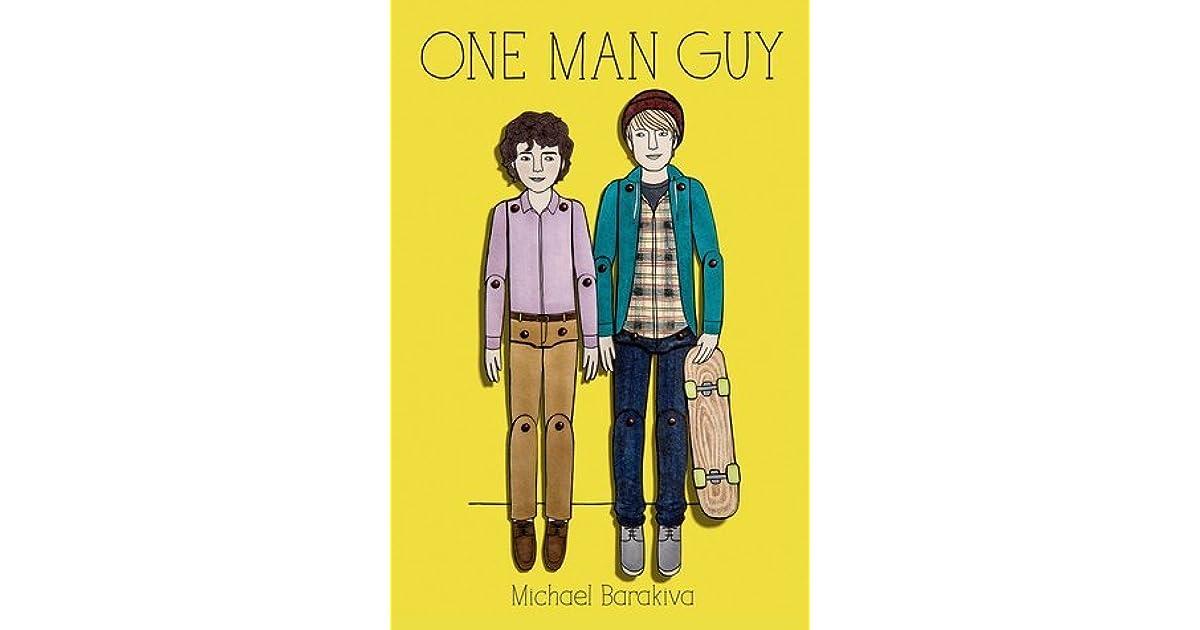 ab6345f7485a One Man Guy (One Man Guy, #1) by Michael Barakiva
