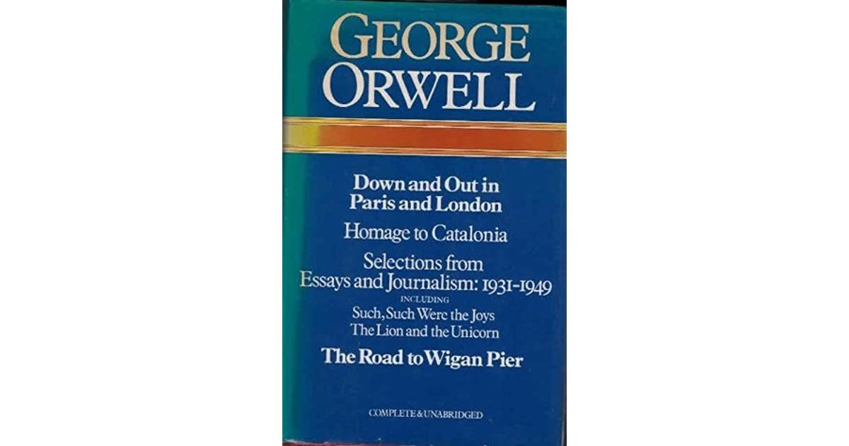 down and out in paris and london essay topics Down and out in paris and london - george orwell's down and out in paris and london.