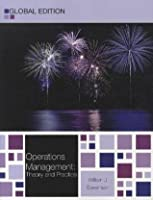 Operations Management by William J  Stevenson