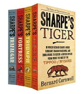 Sharpe Series 4 Book Set: Sharpe's Tiger / Sharpe's Triumph / Sharpe's Fortress / Sharpe's Trafalgar