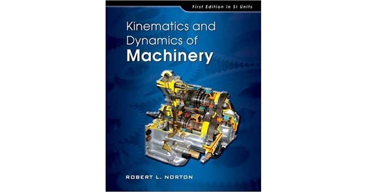 Design Of Machinery Norton 5th Pdf