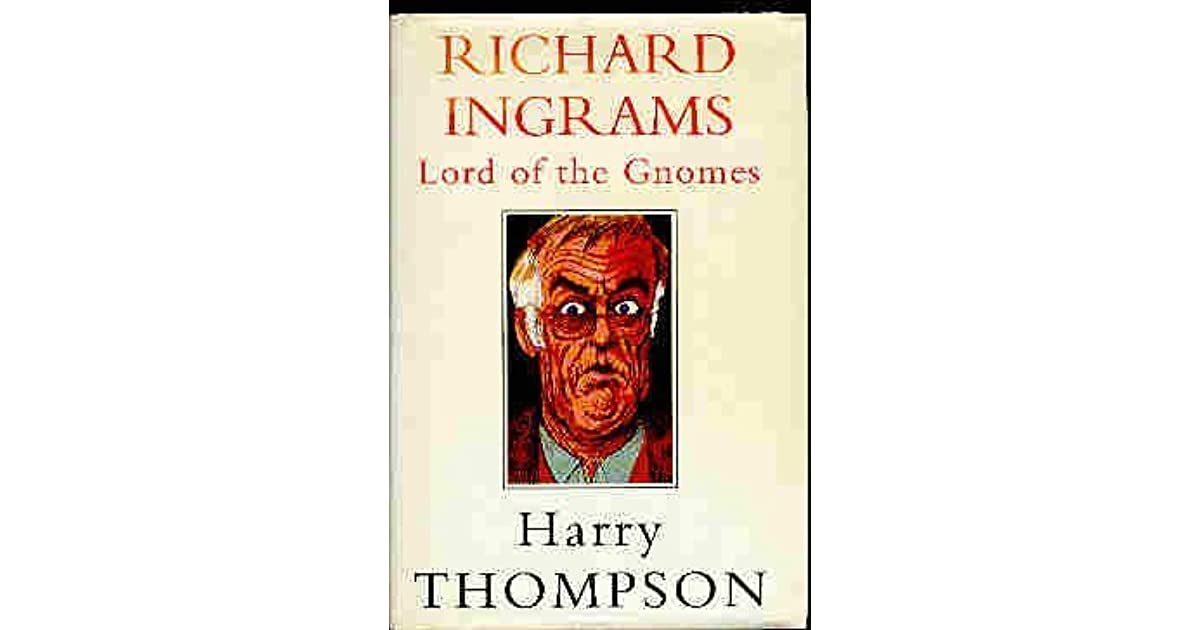 Richard Ingrams by Harry Thompson