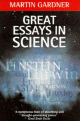 great essays in science by martin gardner