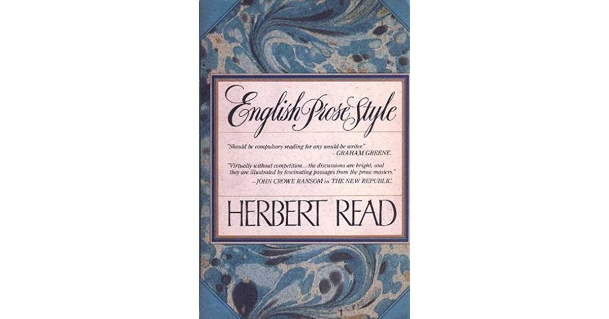 Prose Style in Literature