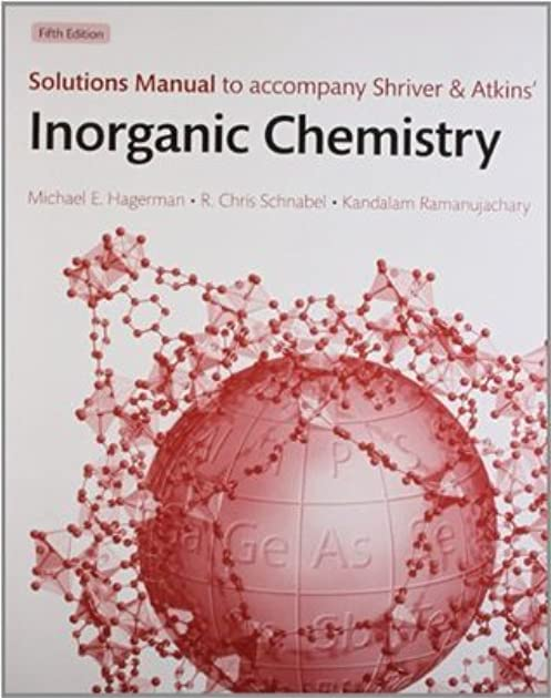 Inorganic Chemistry Miessler 5th Edition Solutions Manual Backstage