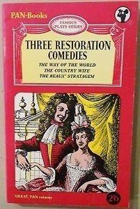 Three Restoration Comedies