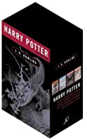 Harry Potter Adult Edition Box Set (Harry Potter, #1-4)
