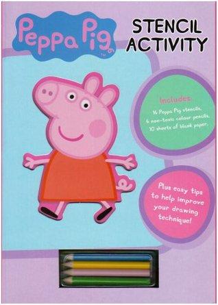 Peppa Pig: Stencil Book