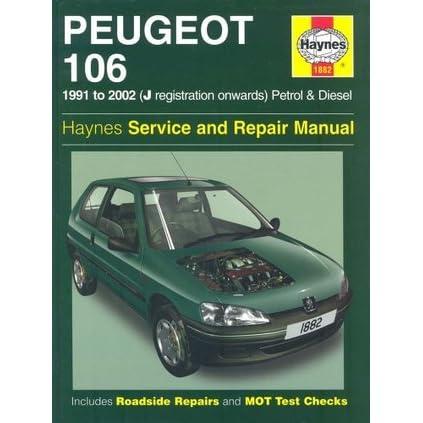 peugeot 106 service and repair manual by steve rendle rh goodreads com Peugeot 306 Peugeot 106 Quicksilver
