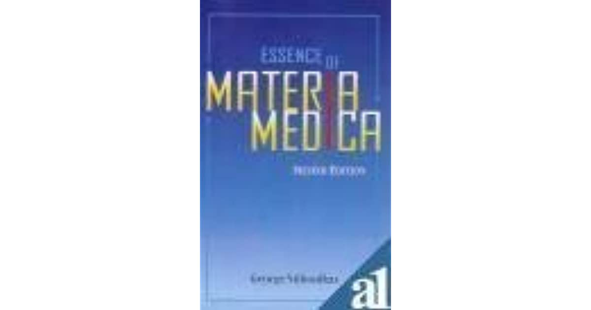 The Essence Of Materia Medica By George Vithoulkas border=