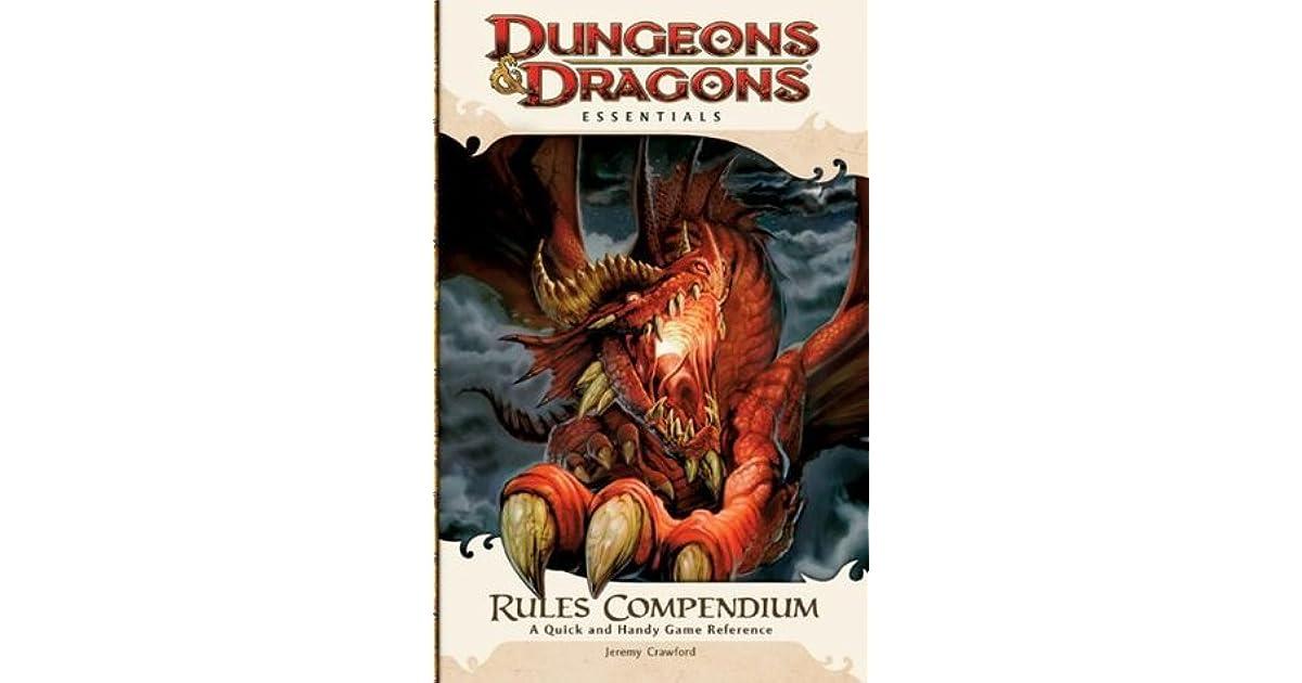 D&D ESSENTIALS RULES COMPENDIUM PDF DOWNLOAD