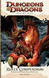 Rules Compendium: A Game Reference for All Players (4th Edition D&D)