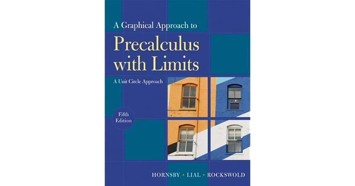 A Graphical Approach to Precalculus with Limits: A Unit