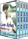 Love Aches Boxed Set (Love Aches, #1-4)