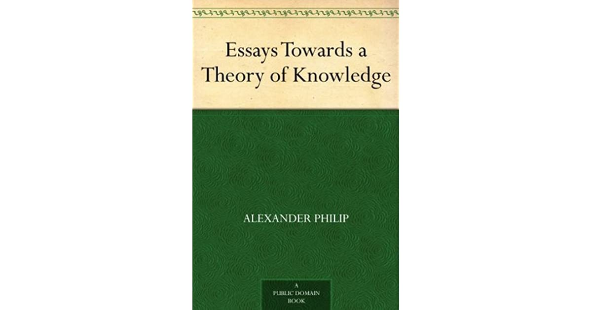 a theory of knowledge essay on the nature of language and intelligent discussion Some questions naturally spring from this broad theory are not of upright and intelligent nature is imitation in plato and aristotle.