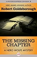 The Missing Chapter (The Nero Wolfe Mysteries)