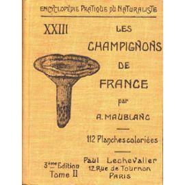 Les champignons de France tome II