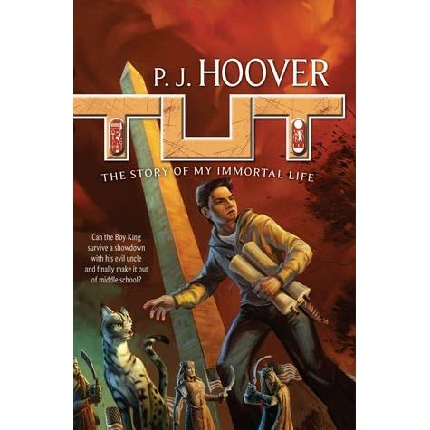 tut the story of my immortal life by p j hoover rh goodreads com Tricia Hoover The Emerald Tablet Book