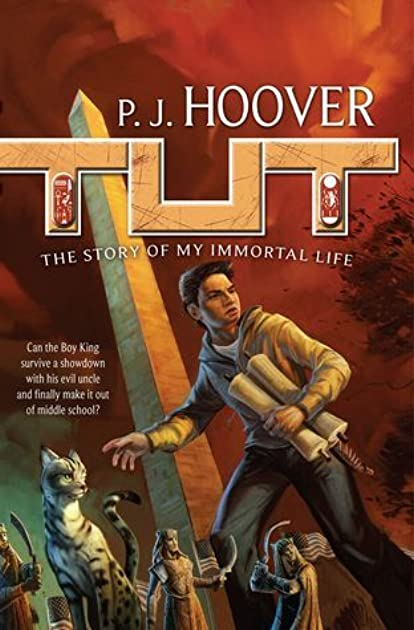 tut the story of my immortal life by p j hoover rh goodreads com The Emerald Tablet Book Author PJ Hoover