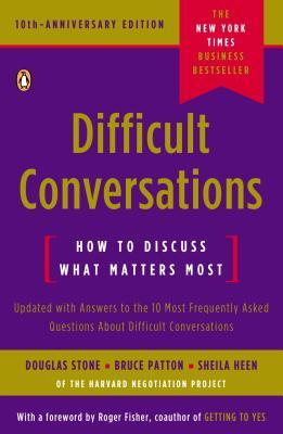 Book Cover - Book Review: Difficult Conversations: How to Discuss What Matters Most