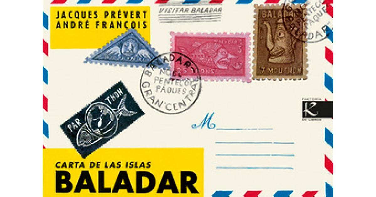 Carta De Las Islas Baladar By Jacques Prévert