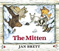 The Mitten: Oversized Board Book