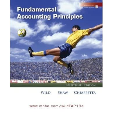 Fundamental accounting principles by john j wild fandeluxe Images