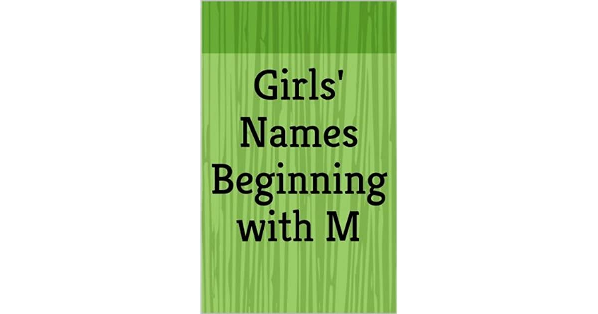 Girls' Names Beginning with M (Letter Series) by Haley March