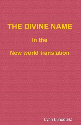 The Divine Name in the New World Translation