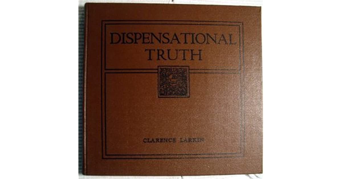 dispensational truth 34 chapters, 90 charts, 21, images, over 12 megabytes of data a bible college education in one volume.