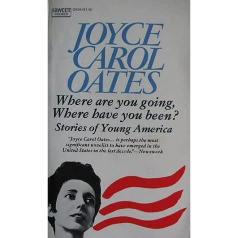the symbol of the car in where are you going where have you been by joyce carol oates
