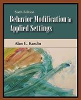 Behavior Modification in Applied Settings