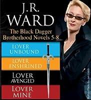 The Black Dagger Brotherhood Novels 5-8 by J.R. Ward