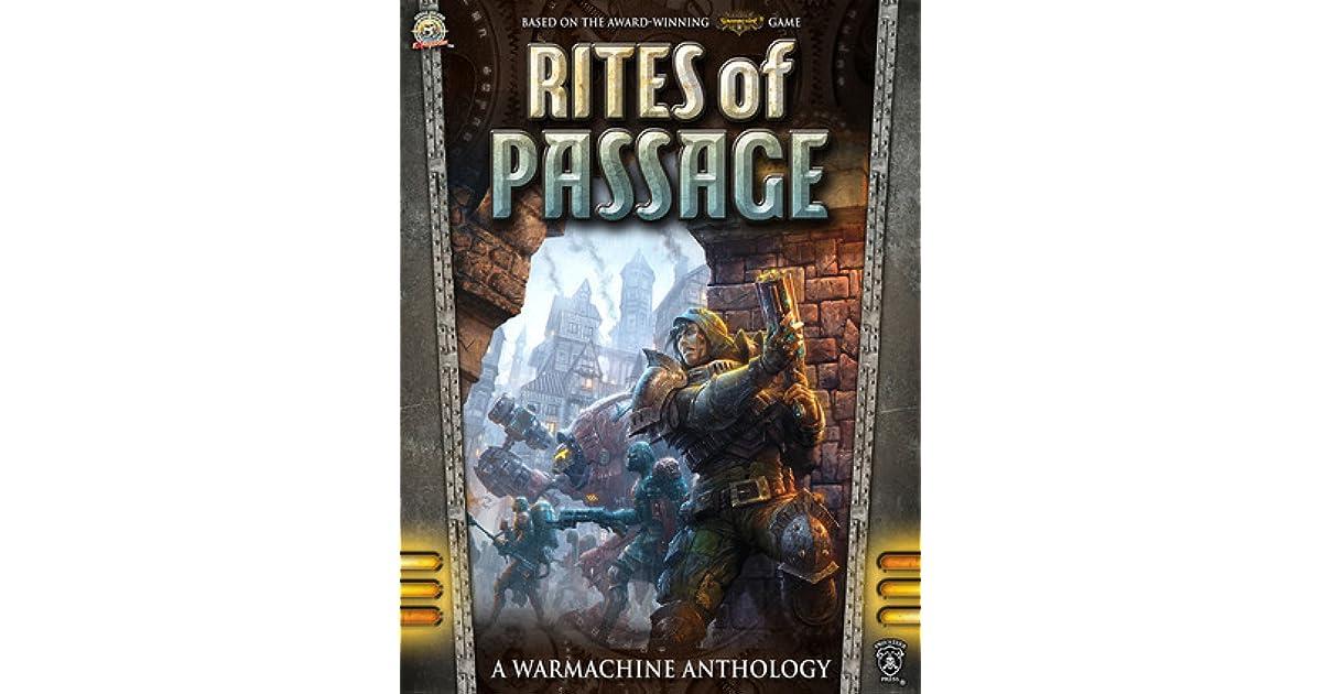 Rites Of Passage A Warmachine Anthology By Douglas Seacat