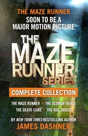 The Maze Runner Series Complete Collection by James Dashner