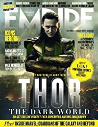 EMPIRE Magazine (October 2013) Thor: The Dark World - Loki Cover