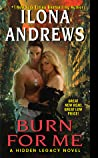 Burn for Me (Hidden Legacy, #1) audiobook review