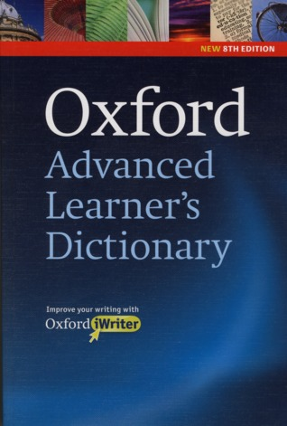 Oxford Advanced Learner's Dictionary by A S  Hornby