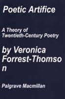 Poetic Artifice: A Theory Of Twentieth Century Poetry