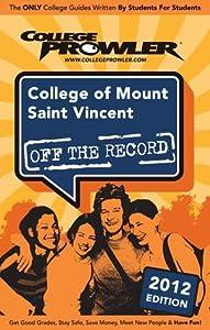 College of Mount Saint Vincent 2012