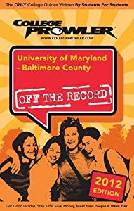 University of Maryland: Baltimore County 2012