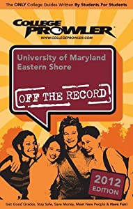 University of Maryland Eastern Shore 2012