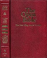 The Open Bible, New King James Version, Expanded Edition (NKJV) (Burgundy Leather Finish)