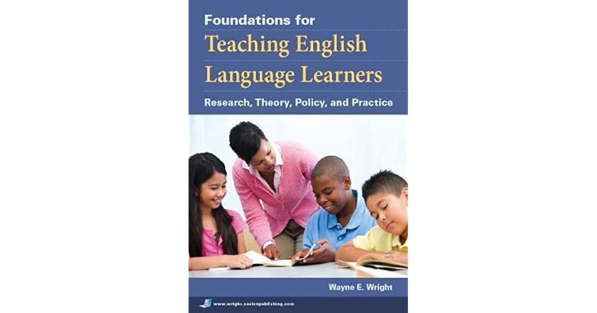 teachers of english language learners Start studying terms teachers of english language learners should know learn vocabulary, terms, and more with flashcards, games, and other study tools.